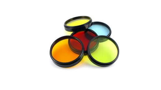 colorful lens filters