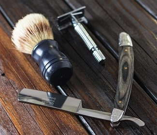 Image of shaving tools.