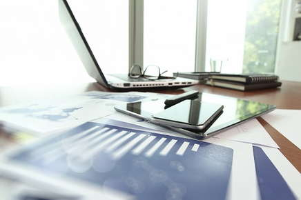 Image of an office desk.