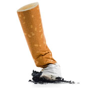 image of cigarette butt.