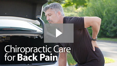 Chiropractic Care for Back Pain.