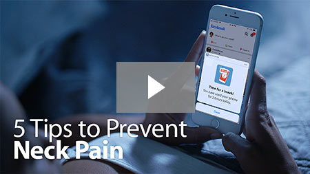 5 Tips to Prevent Neck Pain.
