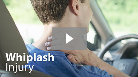 Whiplash injury.