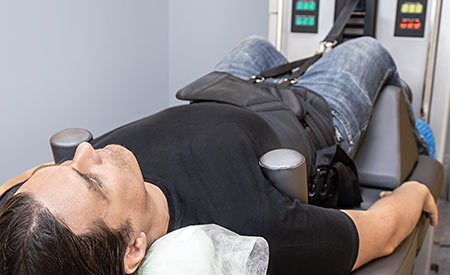 Spinal decompression.