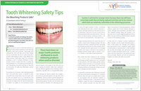 Teeth Whitening Safety Tips - Dear Doctor Magazine
