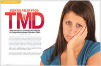 Relief from TMD - Dear Doctor Magazine