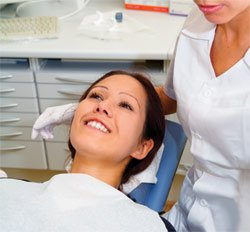 Dental patient relaxing - Woodinville Dentist