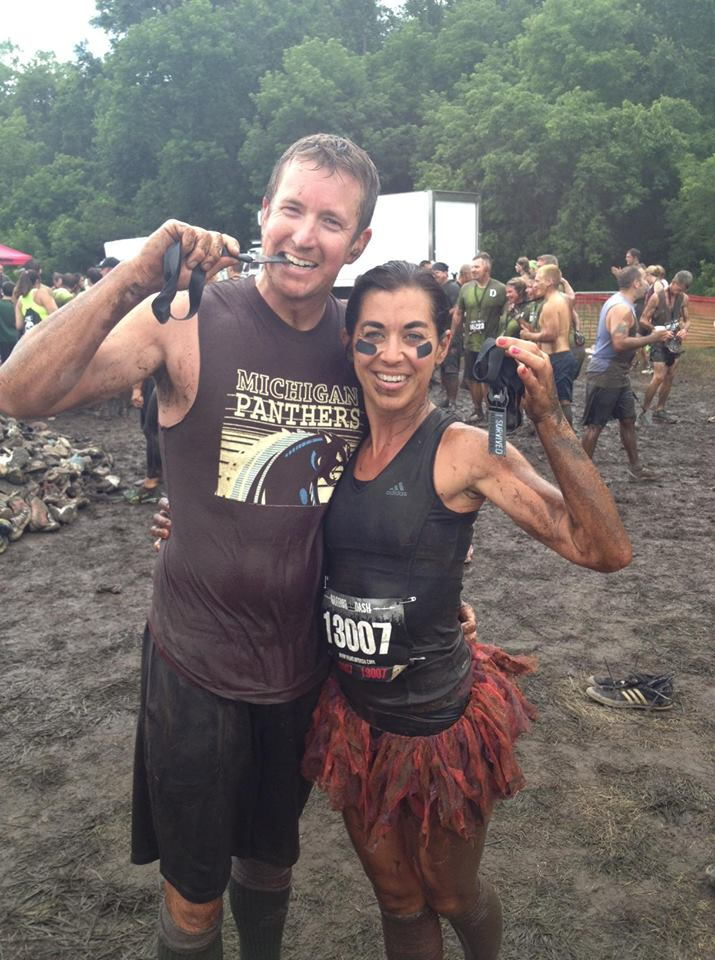 Doc and Misty at warrior dash