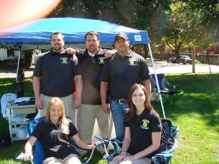 Dr. Conrad and his team - North Wales Chiropractor