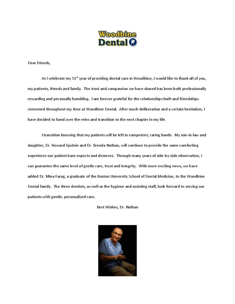 Doc retirement letter