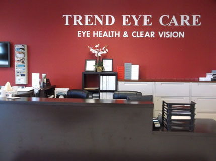 Trend Eye Care Northern Liberties Front Office