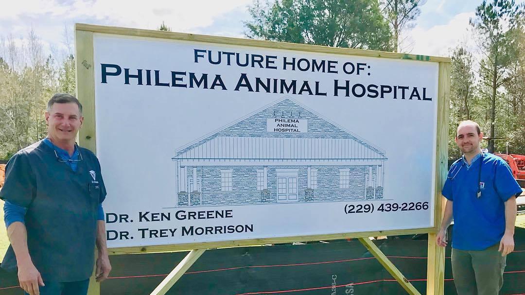 Future home of Philema Animal Hospital