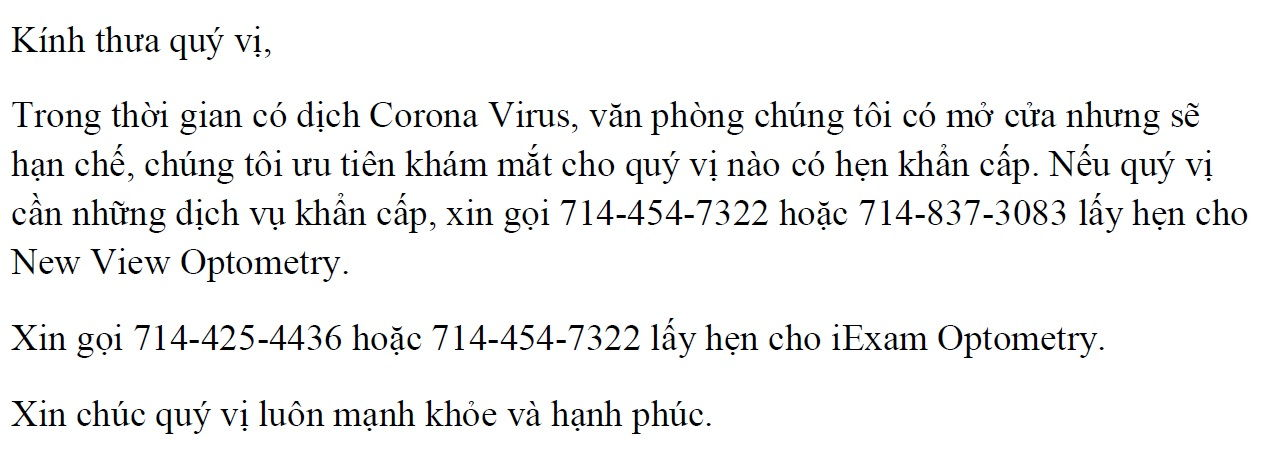 Covid-19 Vietnamese