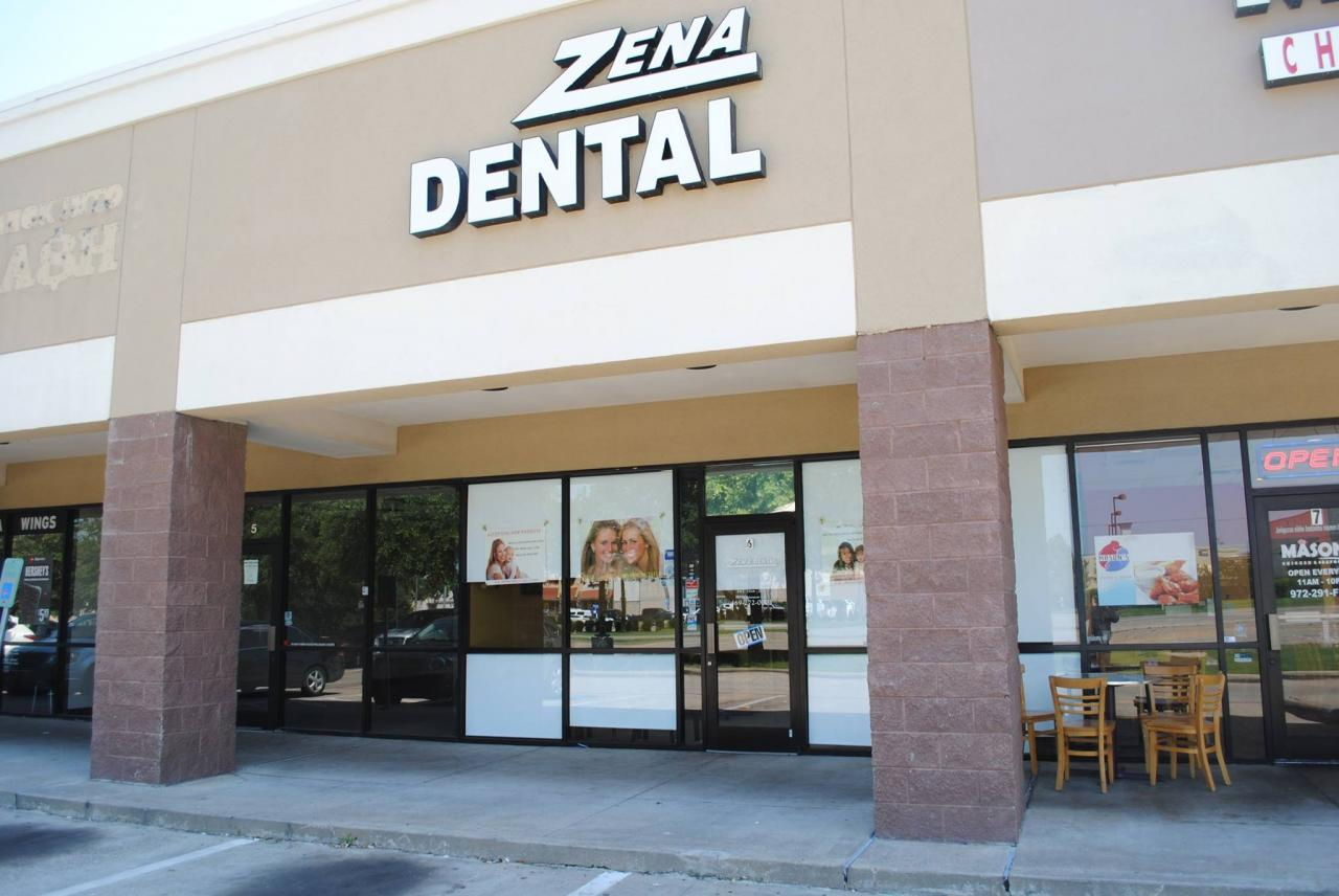 Dental Clinic Store Front