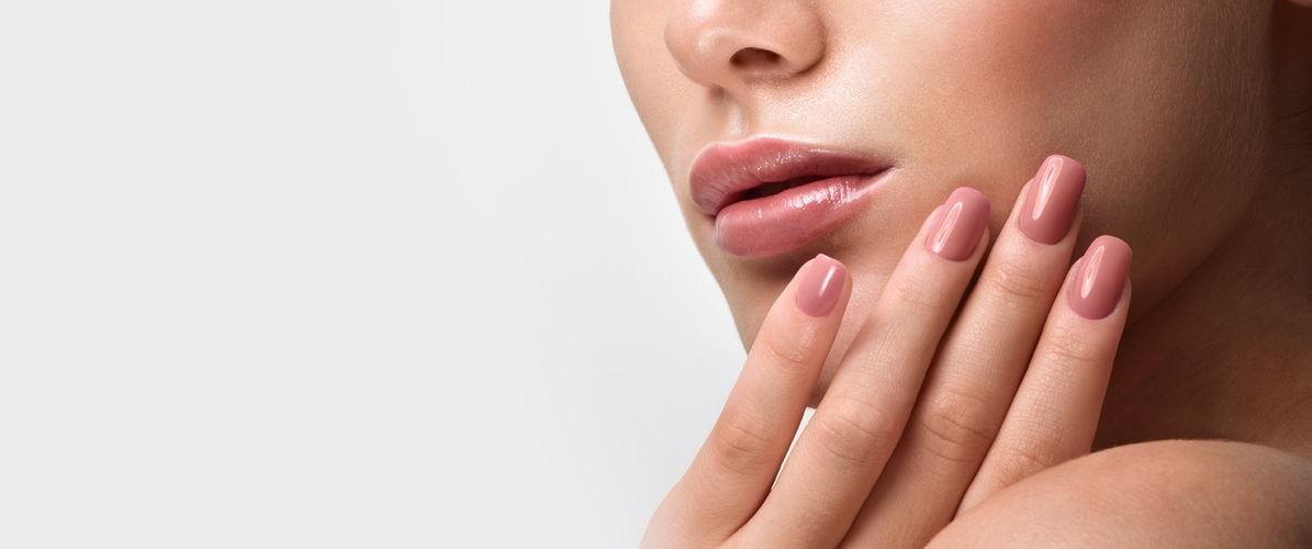 nail and lip beauty