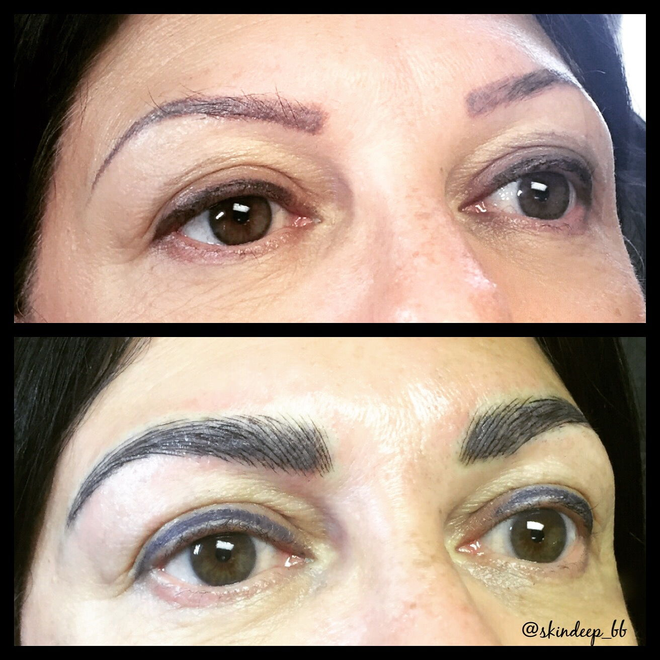 Tattoo coverup w/ Microblading