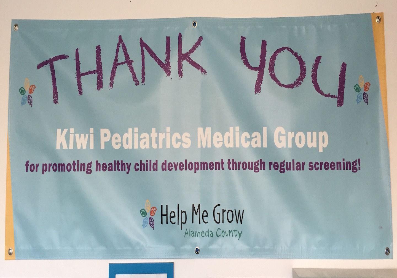 Alameda County First Five awards Kiwi Pediatrics