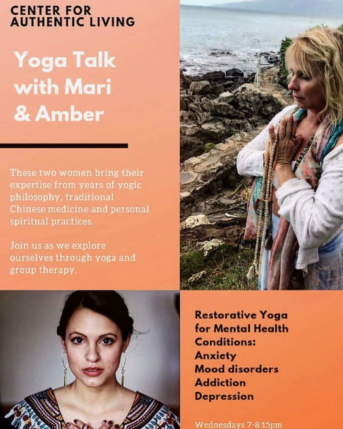 Yoga Talk with Mari and Amber