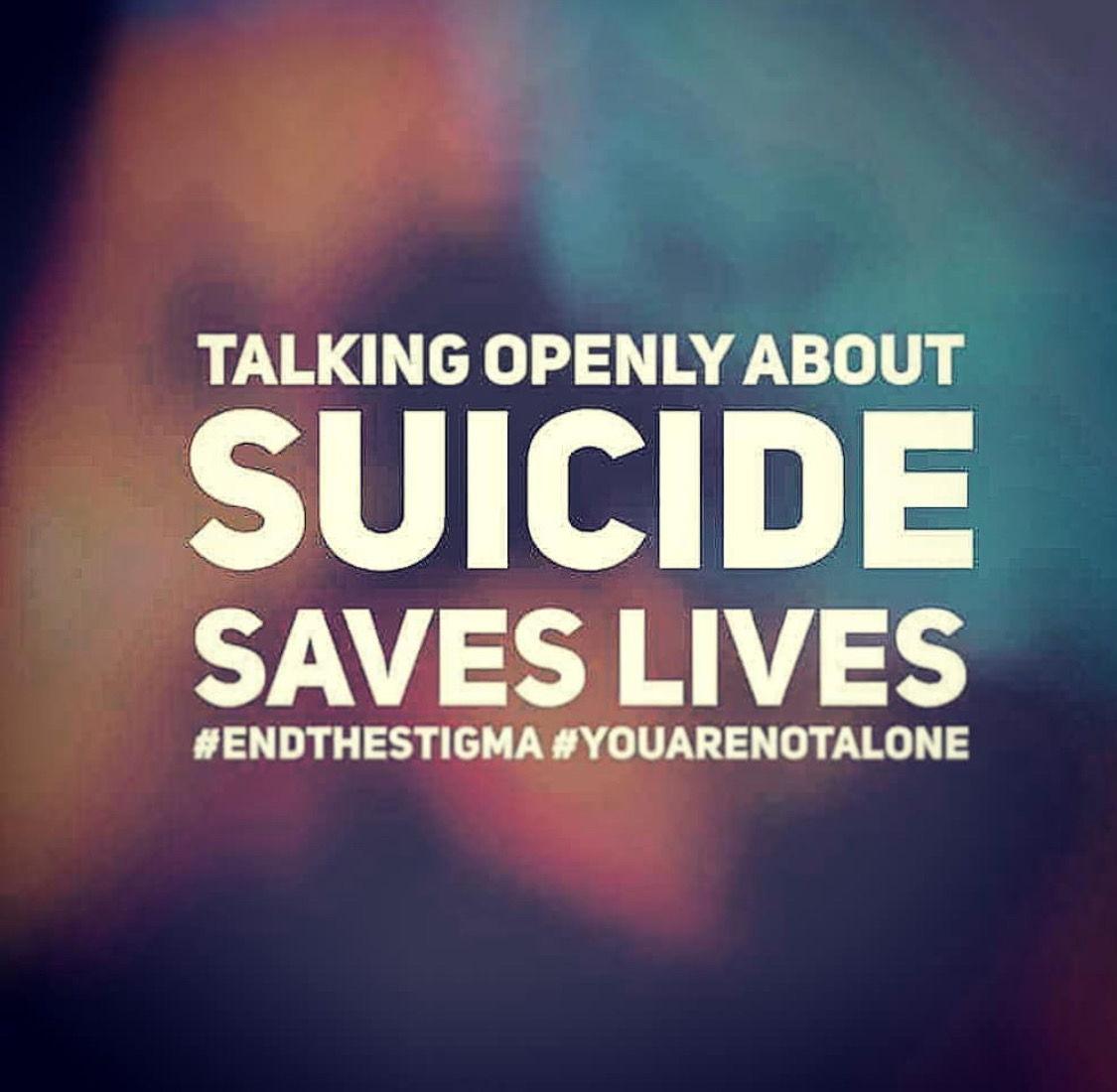 Talk about Suicide, Save Lives