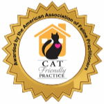PAWS Veterinary Center is Certified by AAFP as Cat friendly practice