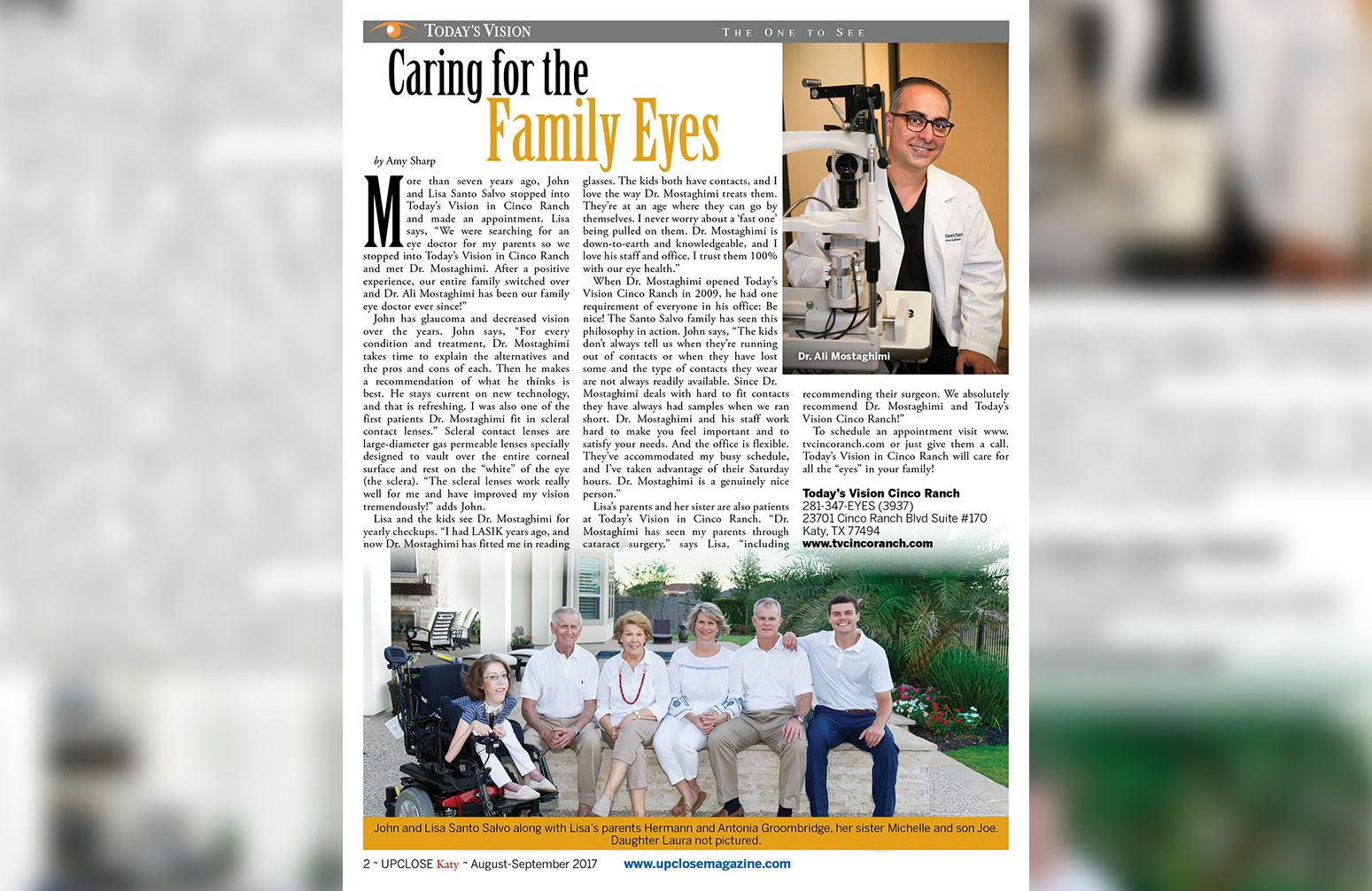 TV Cinco Ranch | Optometry