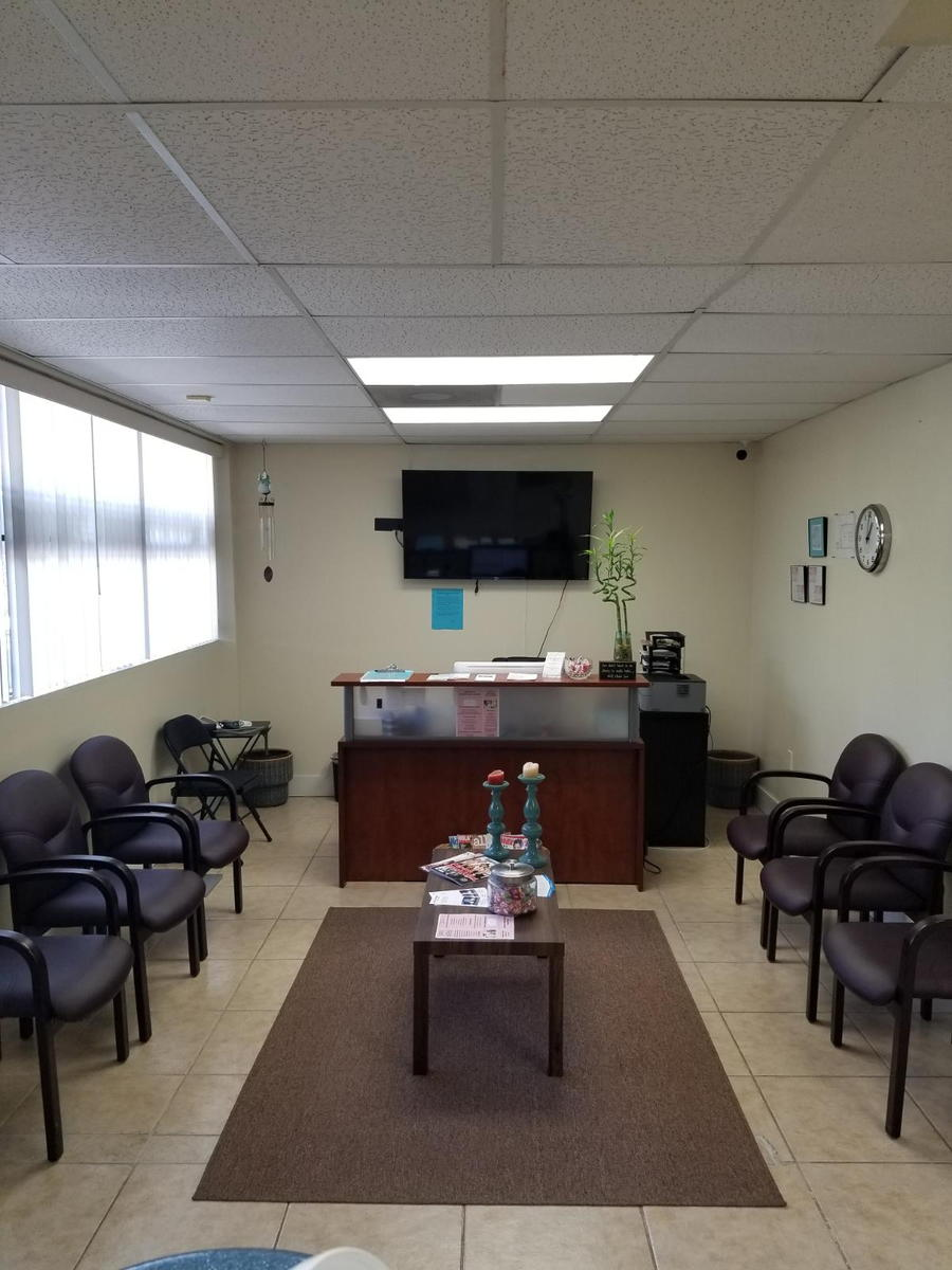 front desk/ waiting area