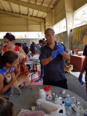 Dr Roman coordinated relief efforts after hurricane Maria devastated Puerto Rico