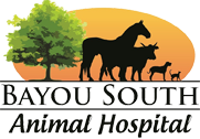 Bayou South Animal Hospital Logo