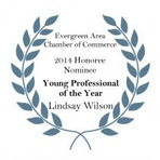Young Professional of the Year nominee badge
