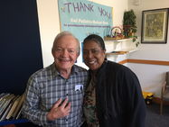 David Kittams, founding Kiwi pediatrician, and Debra, our longest working medical assistant
