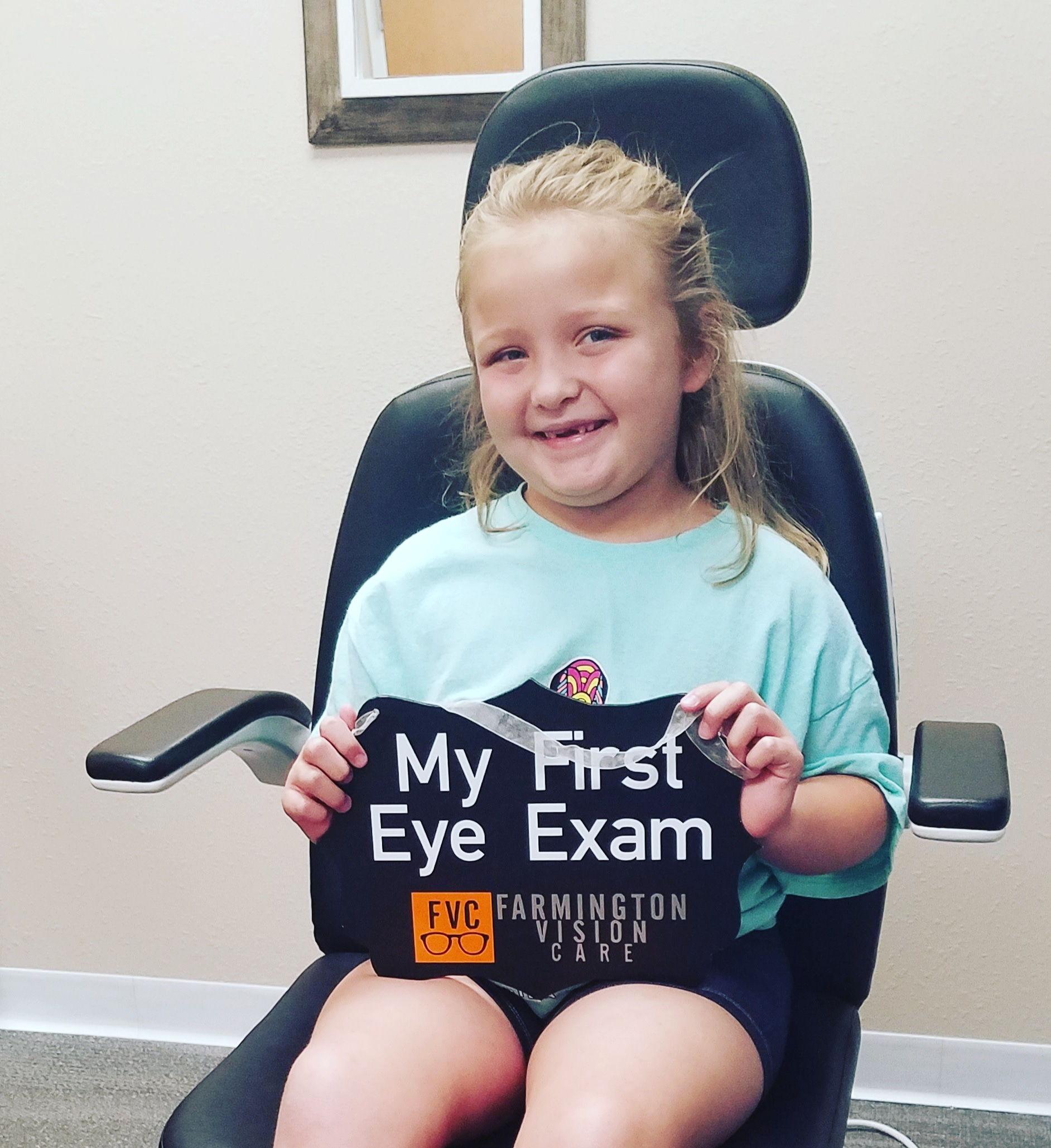 Kids Eye Exams