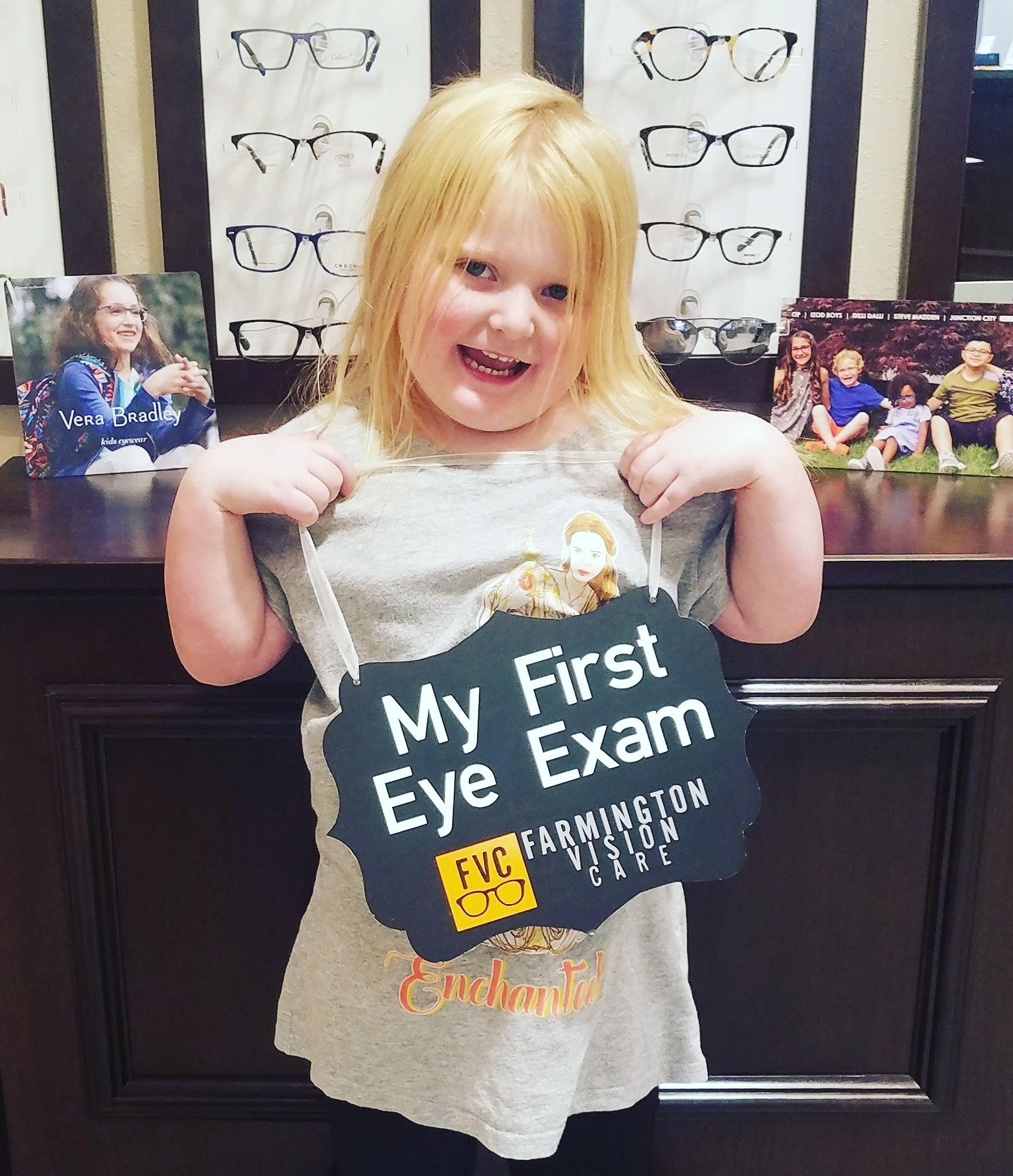 Kids Eye Exam