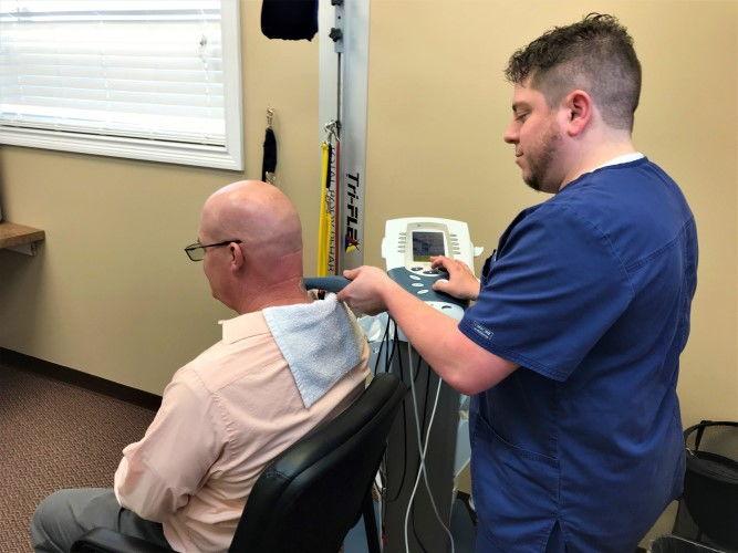 Ultrasound Therapy Electric Stimulation