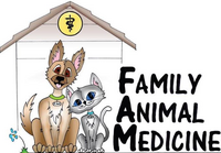 Family Animal Medicine logo, owasso vet, veterinarian