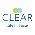 Clear Life in Focus logo