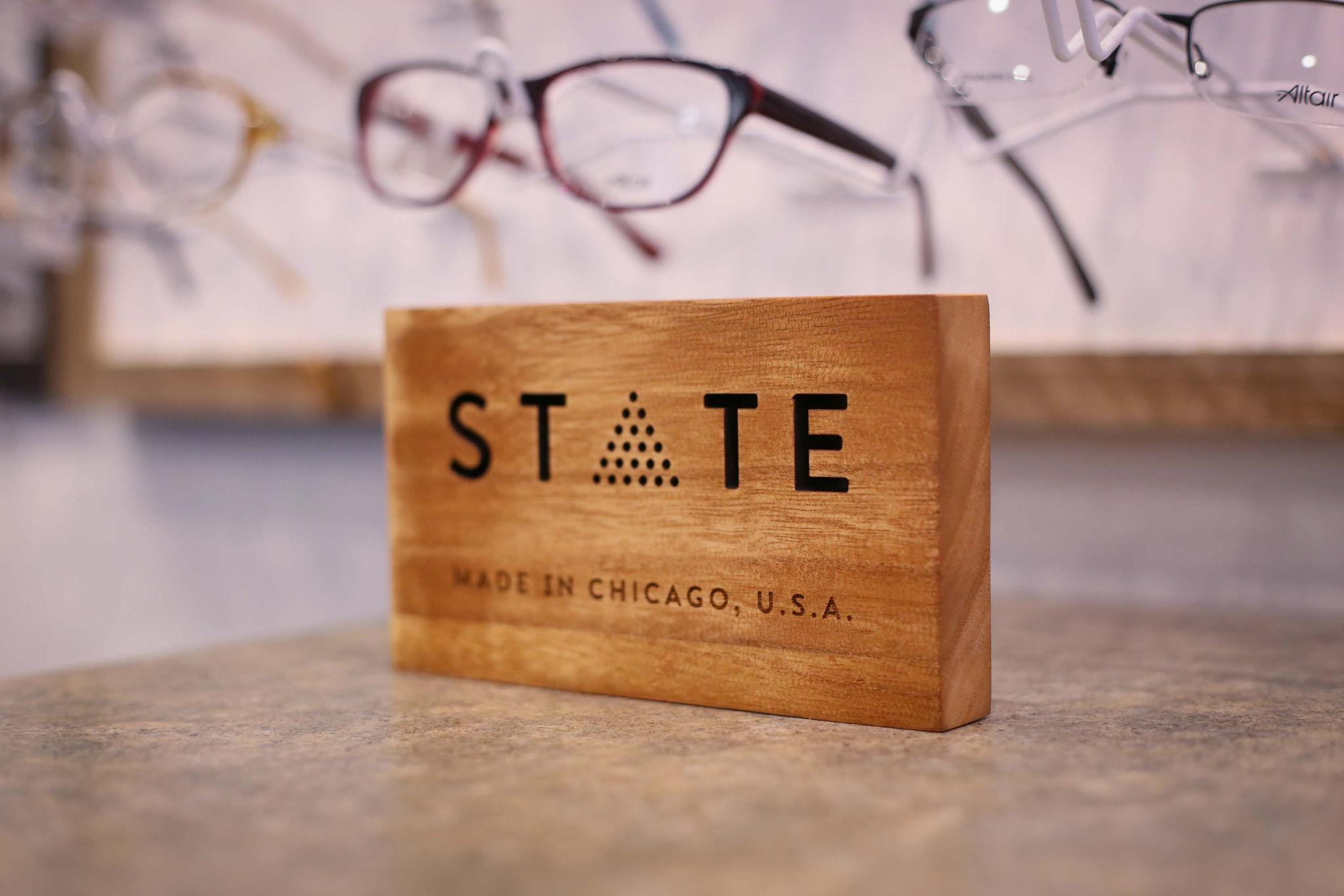 state eyewear display