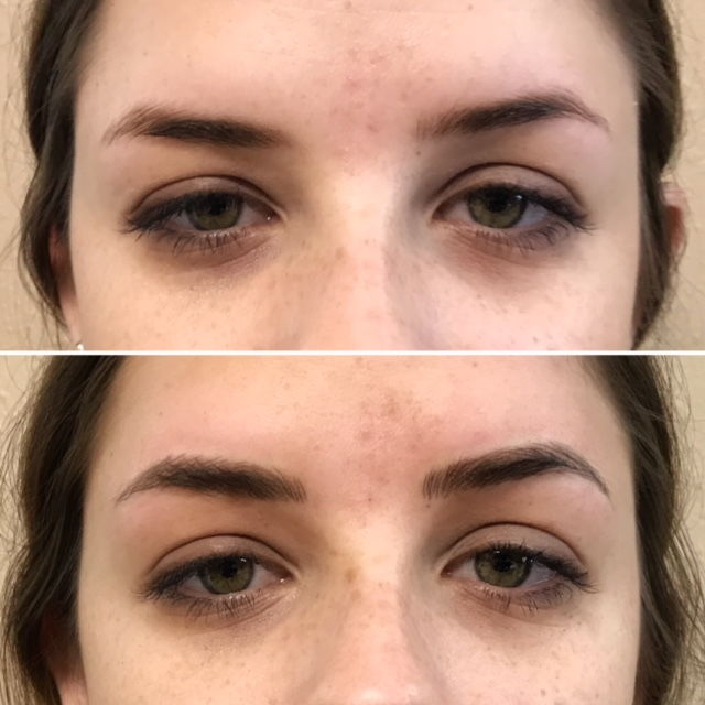 Semipermanent Eyebrows