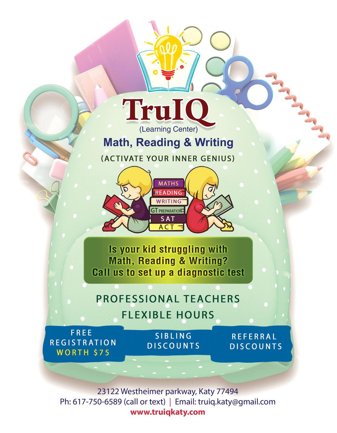 TruIQ Math Reading