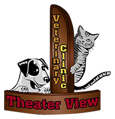 Theater View Veterinary Clinic Logo