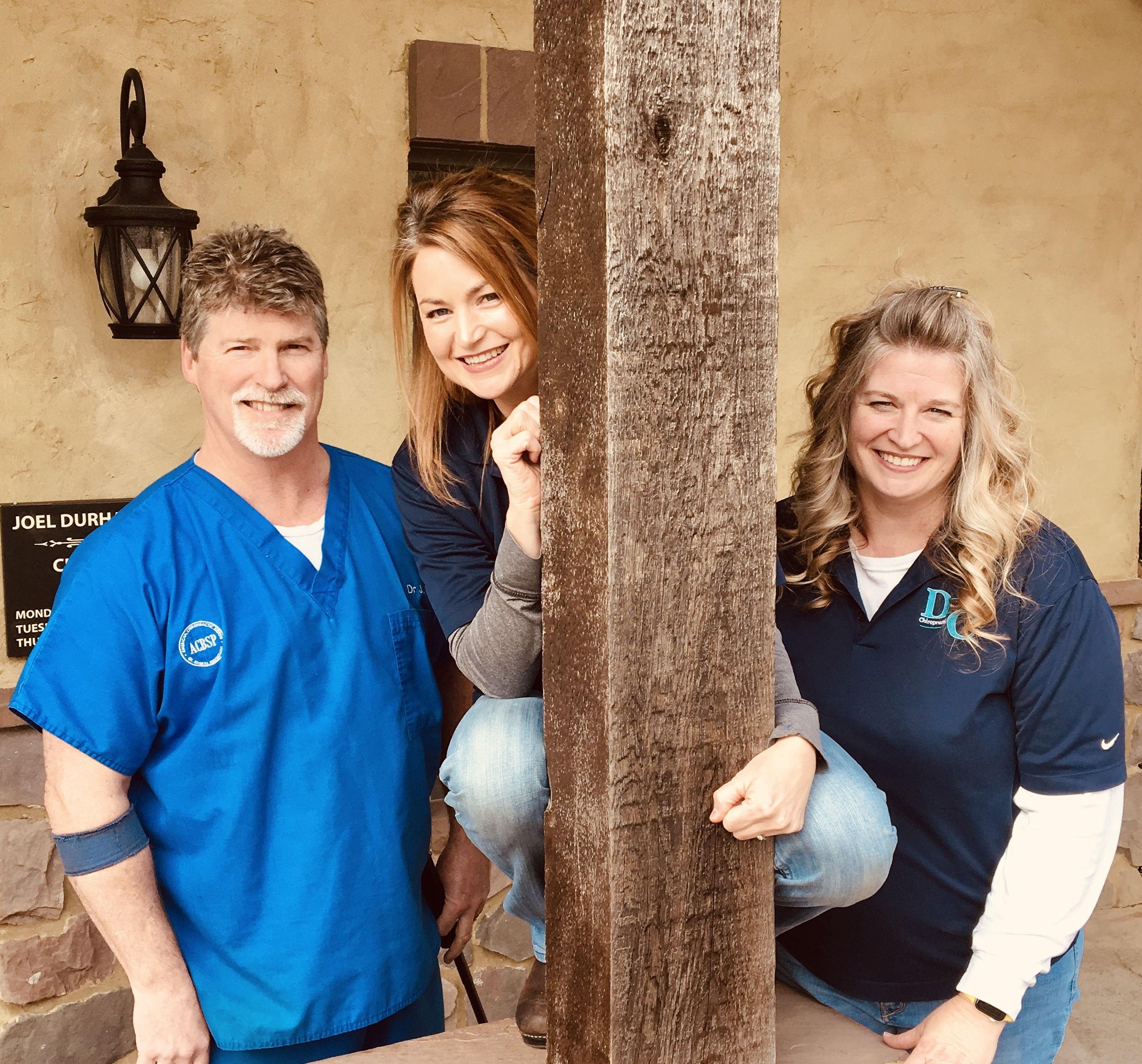 Dr. Joel, Ashley, and Laurinda
