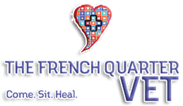 The French Quarter Vet Logo
