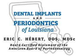 Dental Implants and Periodontics of Louisiana Logo