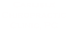 Carlisle Chiropractic Clinic, PC & Acupuncture Logo
