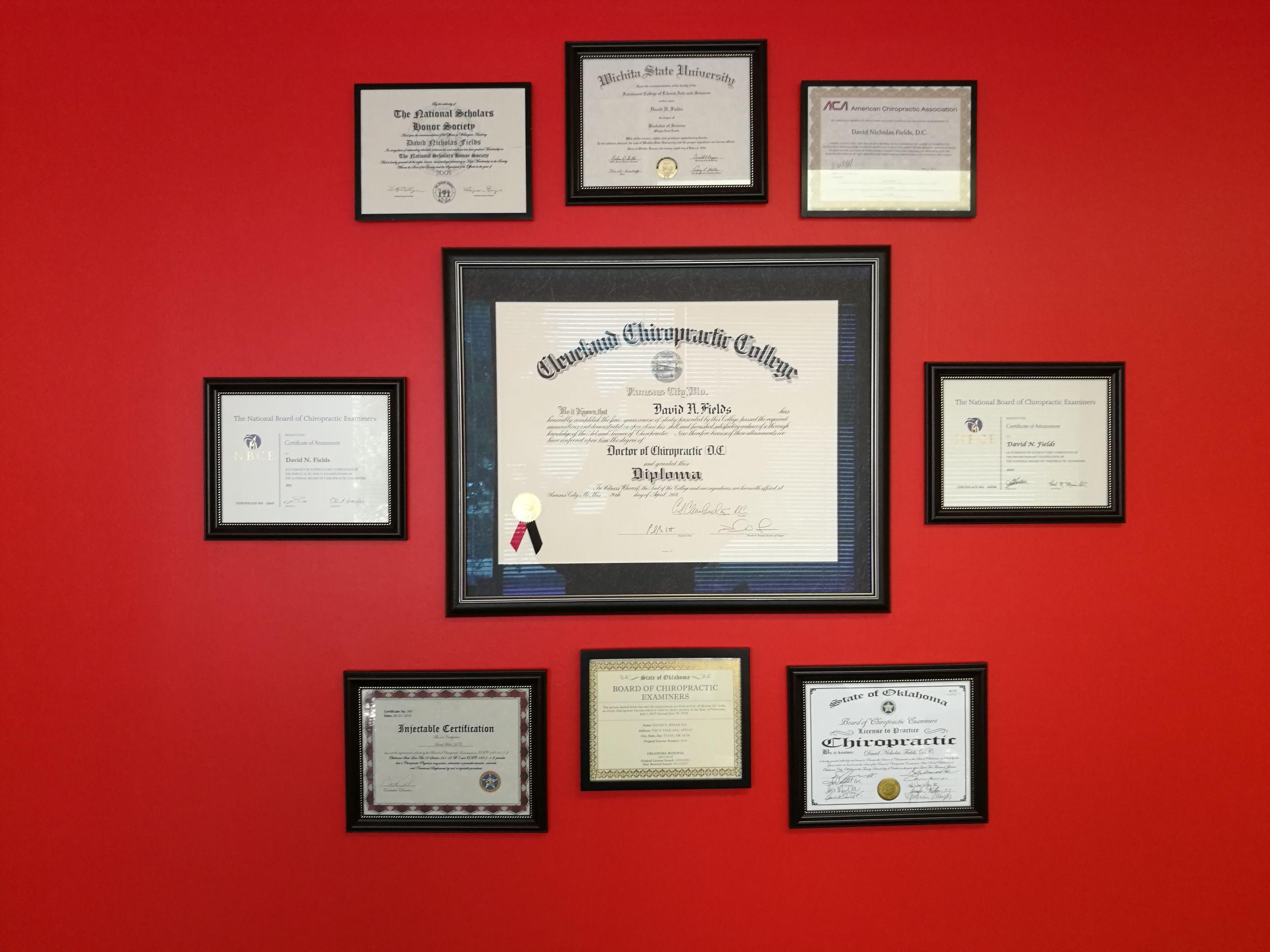Diplomas Certificates
