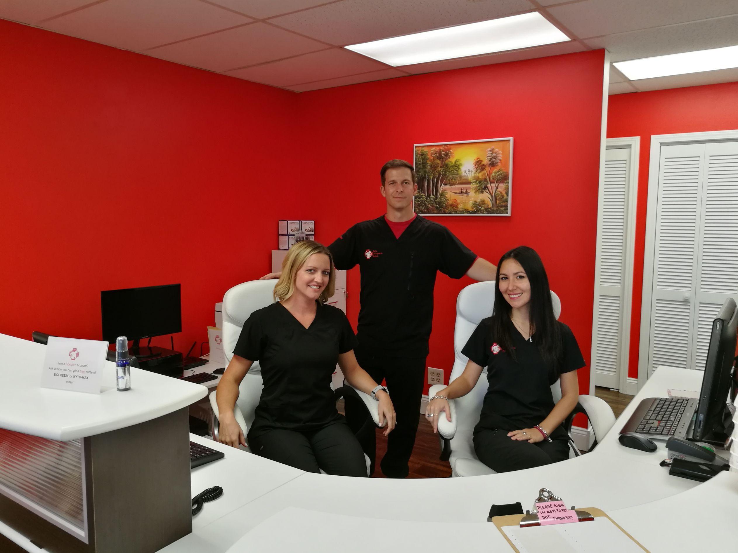 Staff Front Desk