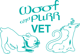 Woof and Purr Vet logo