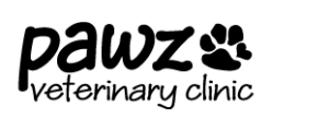 PAWZ Veterinary Clinic Logo