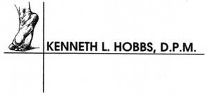Kenneth Hobbs, DPM Logo