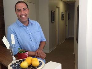 Amir Maghsoodi smiling