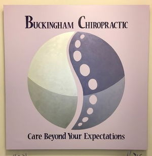 Sign for Buckingham Chiropractic